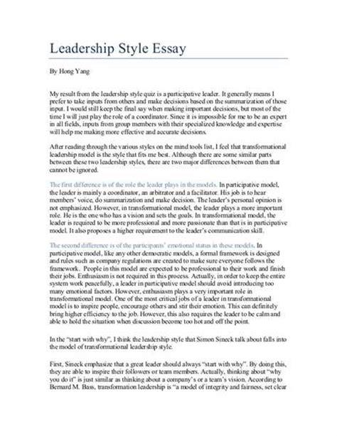 Democratic leadership style essays jpg 463x600