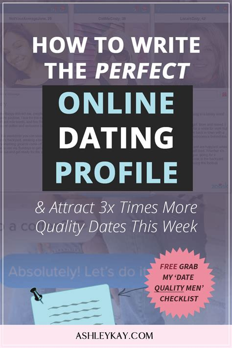 3 ways to write a good online dating profile wikihow jpg 800x1200